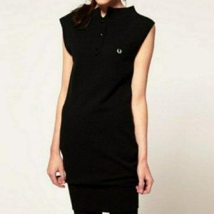 Fred Perry For Amy Winehouse Lambswool Mini Dress